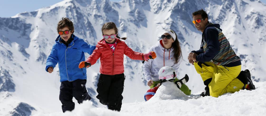 Famille ski Alpes