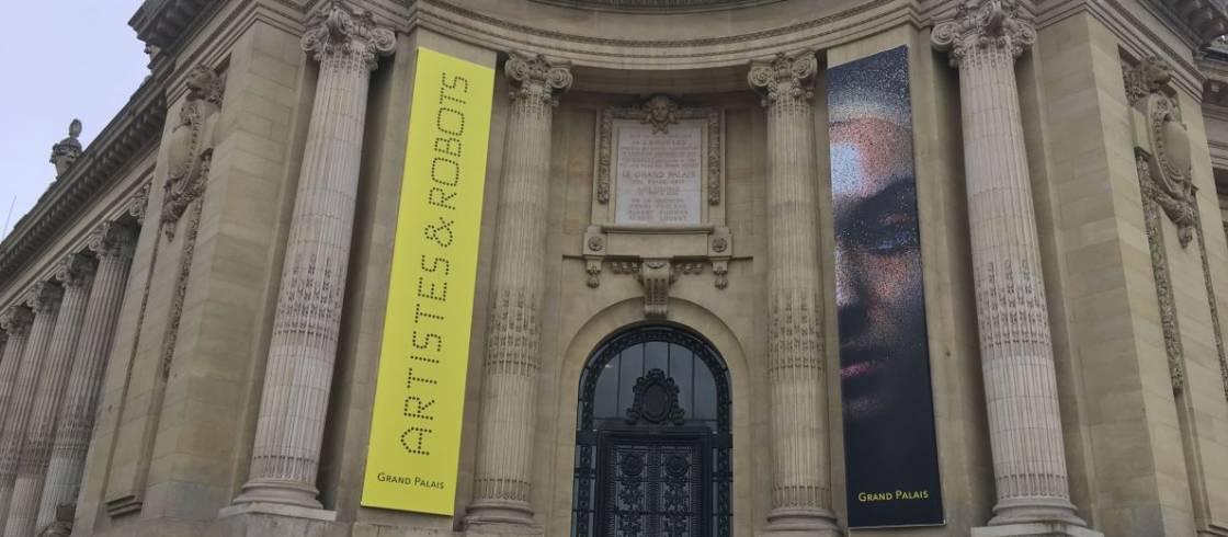 """El Grand Palais acoge una exposición inédita """"Artistas y Robots"""""""