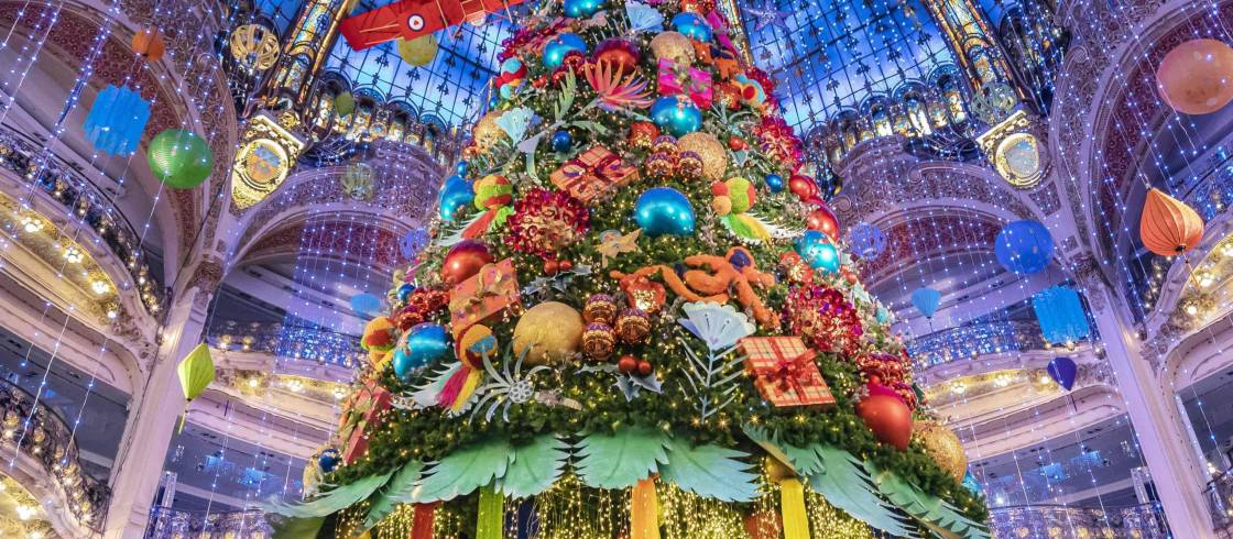 Galeries Lafayette Christmas Dome